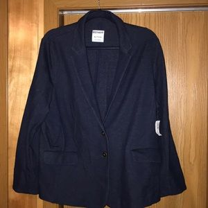 Old Navy Cotten Jean-looking Blazer! XXL BNWT
